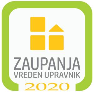 Certifikat zaupanja vreden upravnik 2020